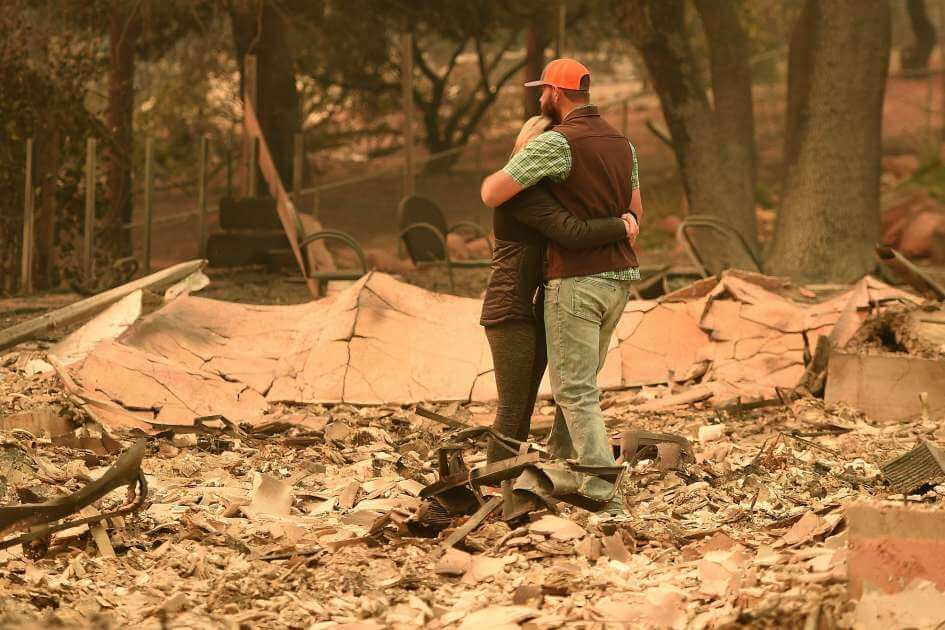 Family Loses Home in Camp Fire in Paradise Ca